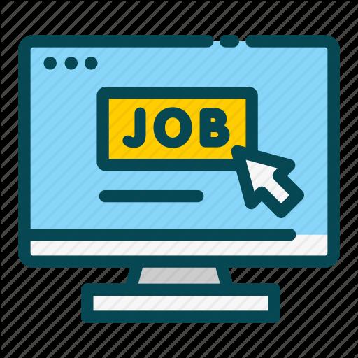 Apply, Human, Job, Online, Recruitment, Resources Icon