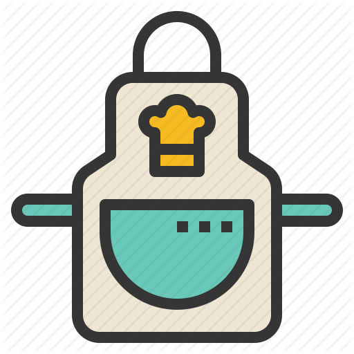 Apron, Clothes, Cooking, Kitchen Icon