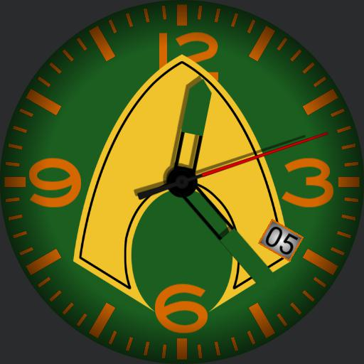 Insignia Series Aquaman Am Watchfaces For Smart Watches