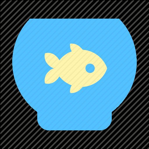 Aquarium, Fish, Pet Icon