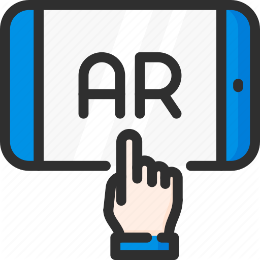 Ar, Augmented, Hand, Mobile, Phone, Reality, Virtual Icon