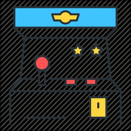 Arcade, Arcade Game, Game, Gaming Icon