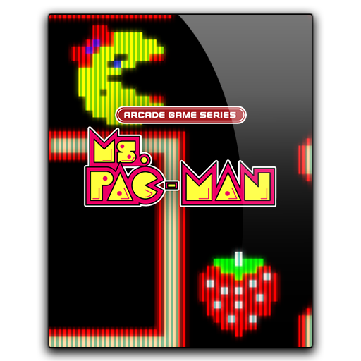 Icon Arcade Game Series Ms Pac Man
