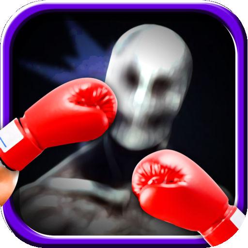 Slenderman Face Punch Free Arcade Classic