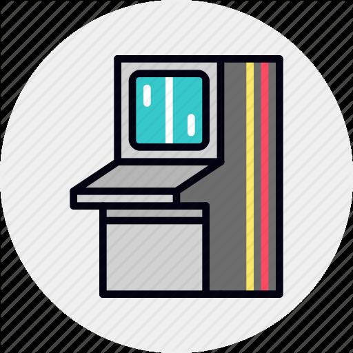 Arcade, Console, Game, Machine, Retro, Video Icon