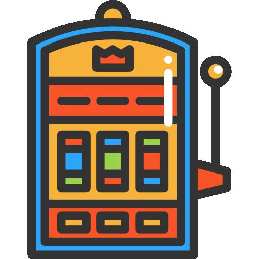 Slot Machine Icon Kostenlos Vektor Kunst