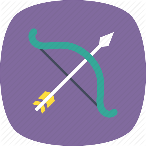 Archery, Archery Target, Bow And Arrow, Olympics, Target Icon