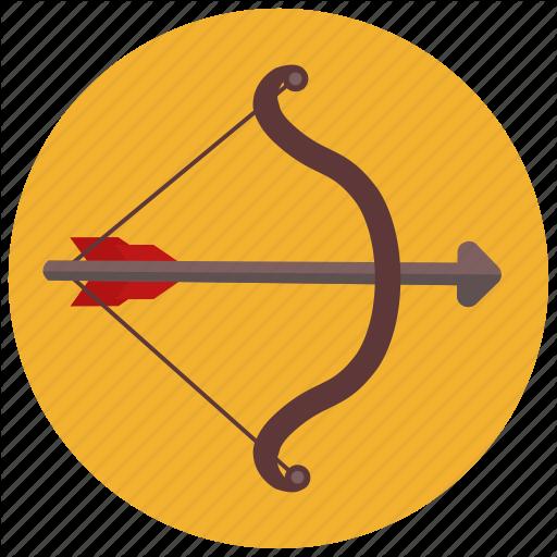 Archery, Arrow, Bow, Horoscope, Sagittarius, Zodiac, Zodiacs Icon