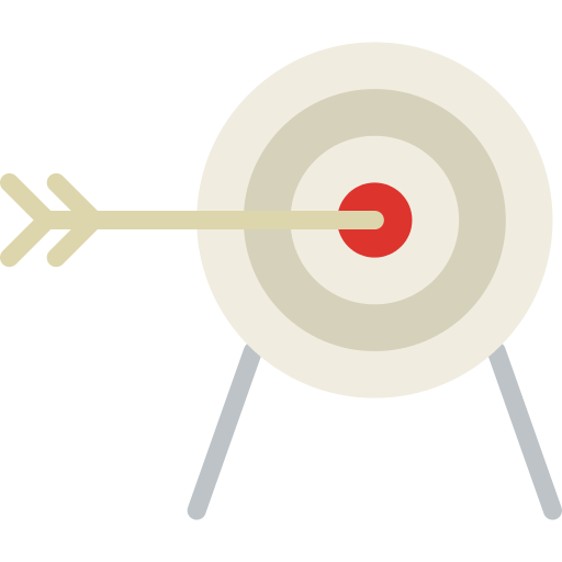Archery Target Png Icon