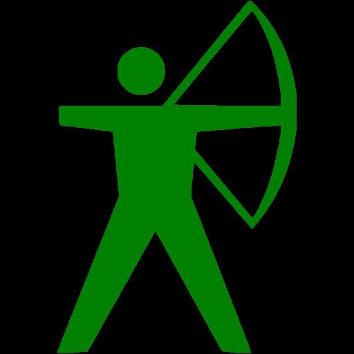 Green Archery Icon