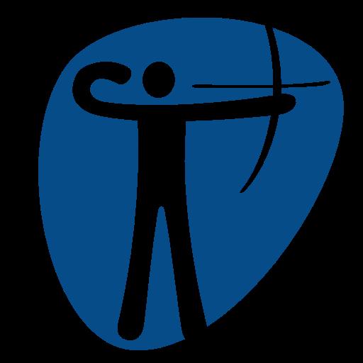 Olympic Games, Olympics, Rio, Sports, Sport, Archery Icon