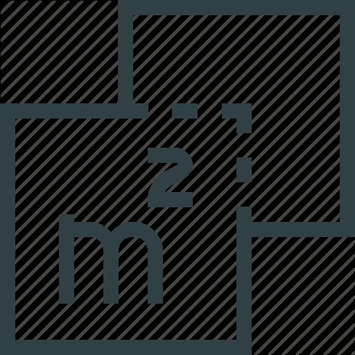 Area, Plan, Size Icon