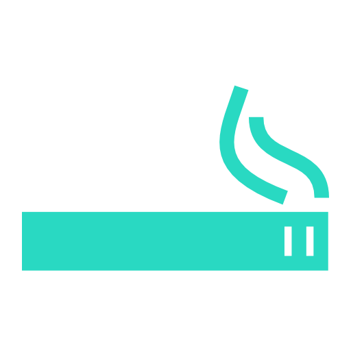 Green, Smoker, S, Area Icon Free Of Hotel And Spa Icons