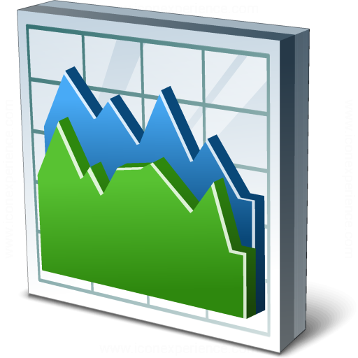 Iconexperience V Collection Chart Area Icon