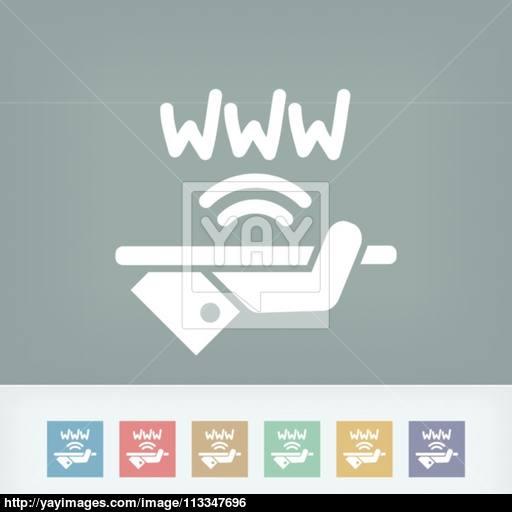 Wi Fi Area Icon Vector
