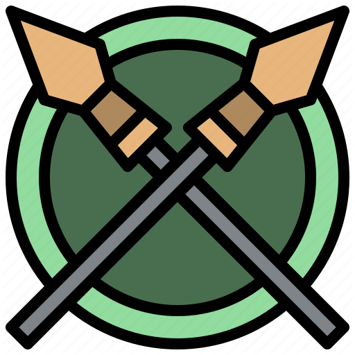 Accessories, Ares, Cultures, Miscellaneous, Spear, War, Weapon Icon
