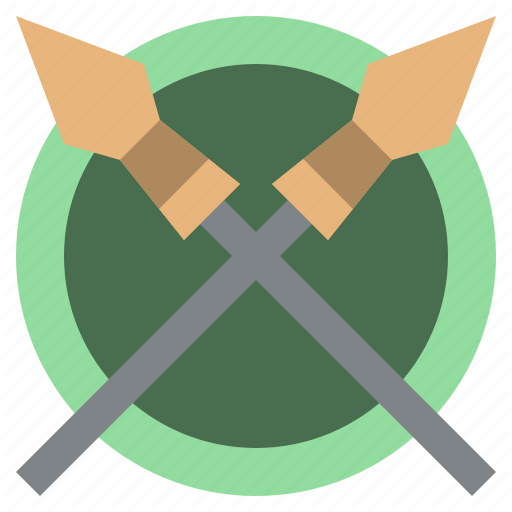 Accessories, Cultures, Miscellaneous, Spear, Spears, War, Weapon Icon