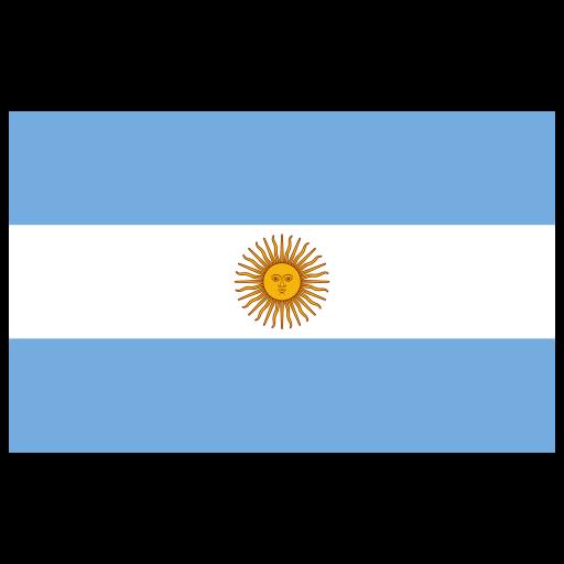 Ar Argentina Flag Icon