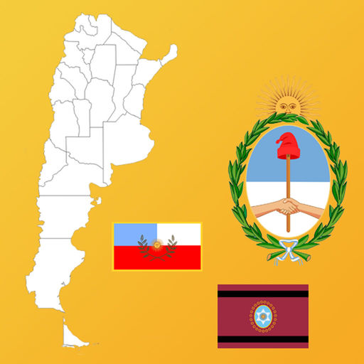 Argentina State Flags, Maps, Info