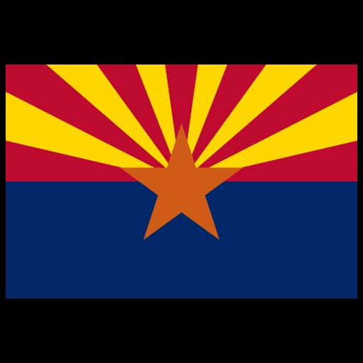 Us Az Arizona Flag Icon
