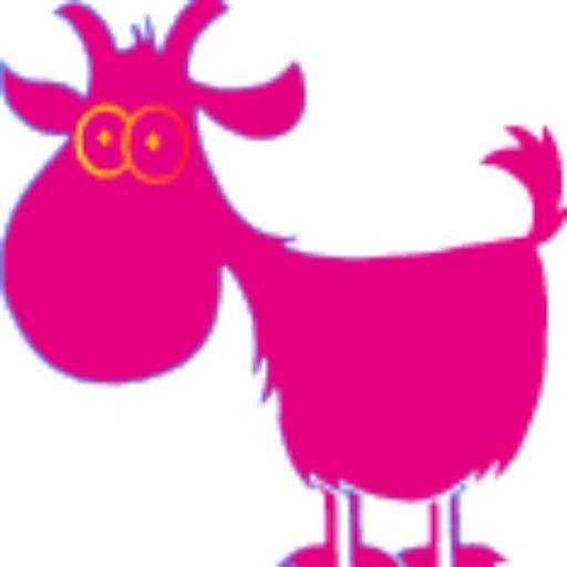 Cropped Goat Yoga Orange Icon Final Goat Arizona