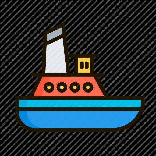Ark, Barque, Boat, Nave, Sea, Ship, Vessel Icon