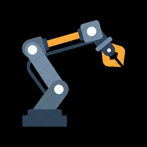 Download Robot,arm Icon Inventicons