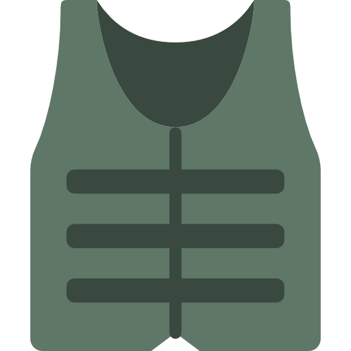 Bullet Proof Vest Icon Army Badges Smashicons