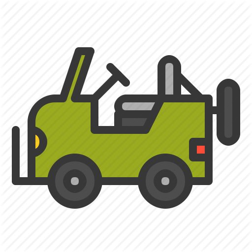 Army, Car, Force, Jeep, Military, Vehicle Icon