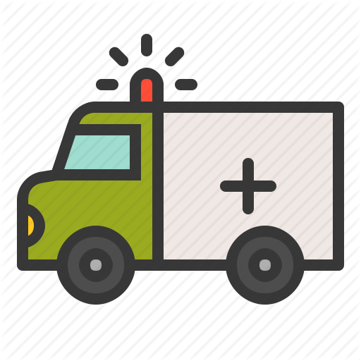 Army, Force, Medical Truck, Military, Vehicle Icon