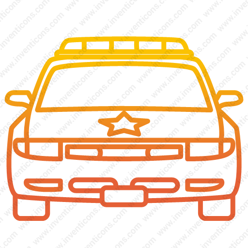 Download Police,vehicle Icon Inventicons