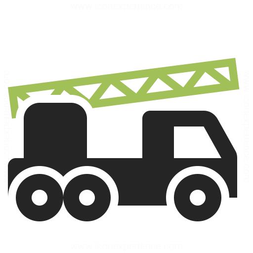 Fire Truck Icon Iconexperience
