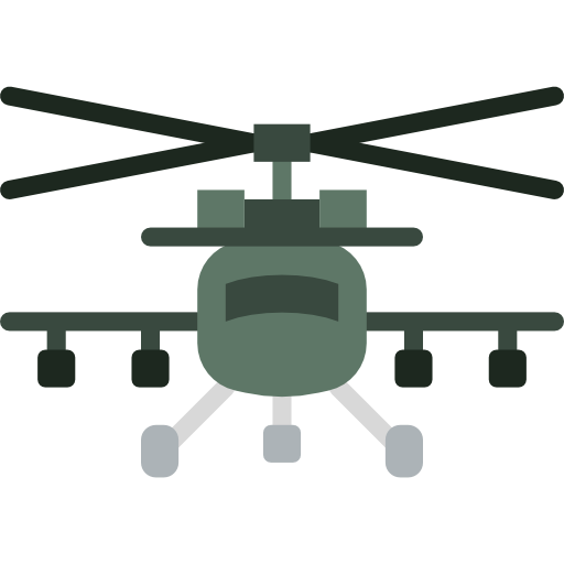 Helicopter Icon Army Badges Smashicons