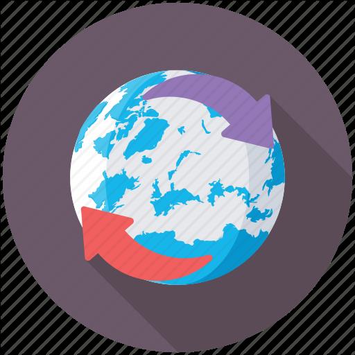 Around The World, Digital World, Global Communications, Globe