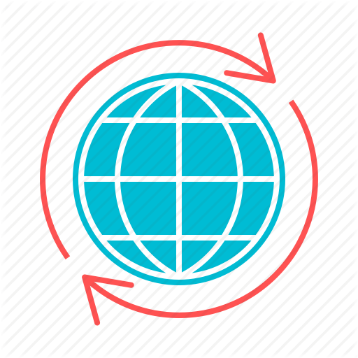 Around The World, Global, Globe, International, Network, World Icon
