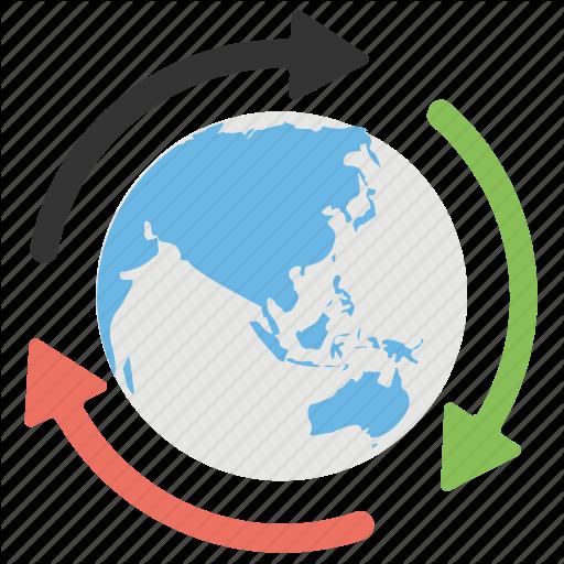 Around The World, Global Communication, Globalization, Information