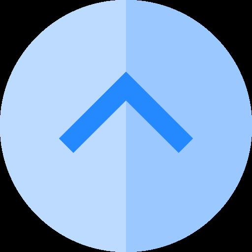 Circle, Orientation, Arrows, Direction, Up Chevron, Multimedia