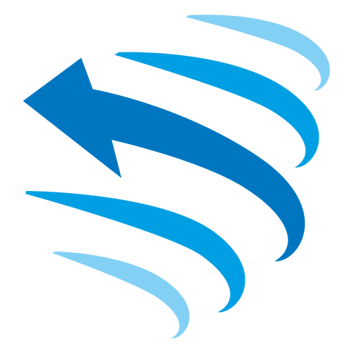 Blue Curved Arrow Transparent Png Clipart Free Download