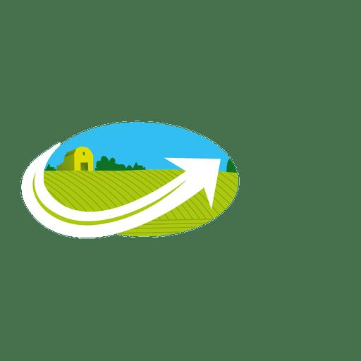 Landscape Arrow Icon