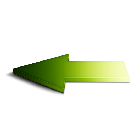 Green Left Arrow Icon Download Free Icons
