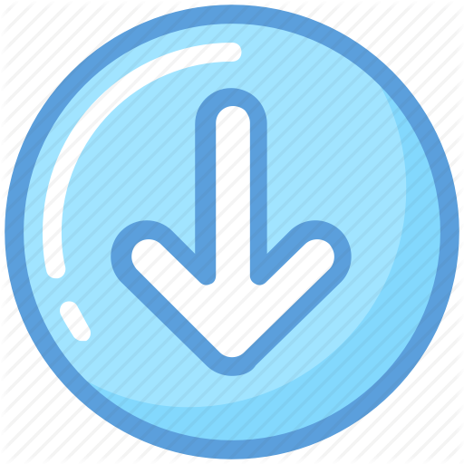 Arrow, Arrow Indicator, Arrow Pointing, Down Arrow, Downloading Icon