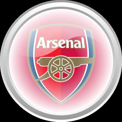 Arsenal, Flag, Football, Premier English Icon