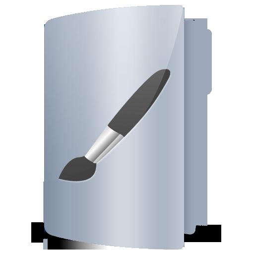 Art, Brush, Folder Icon