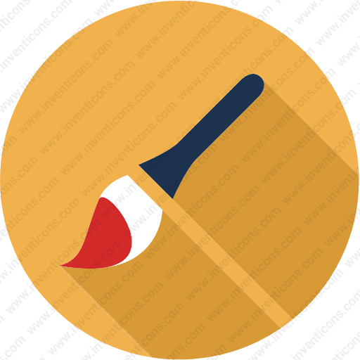 Download Brush,art,drawing,graphic,paint,painting Icon Inventicons