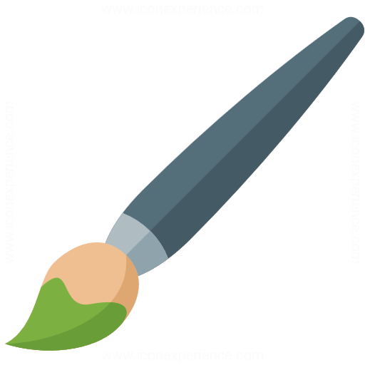 Iconexperience G Collection Brush Icon