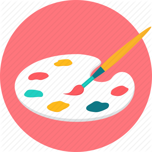 Art, Color, Coloring, Finearts, Graphic, Paint, Painting Icon