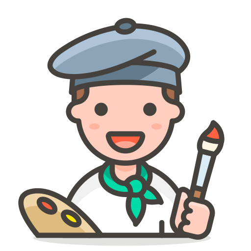 Man, Artist Icon Free Of Free Vector Emoji