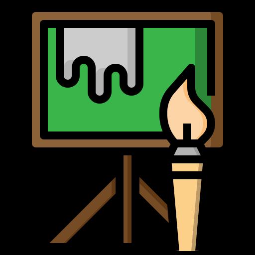 Art, Artist, Artistic, Paint, Painter, Painting, Palette Icon Free