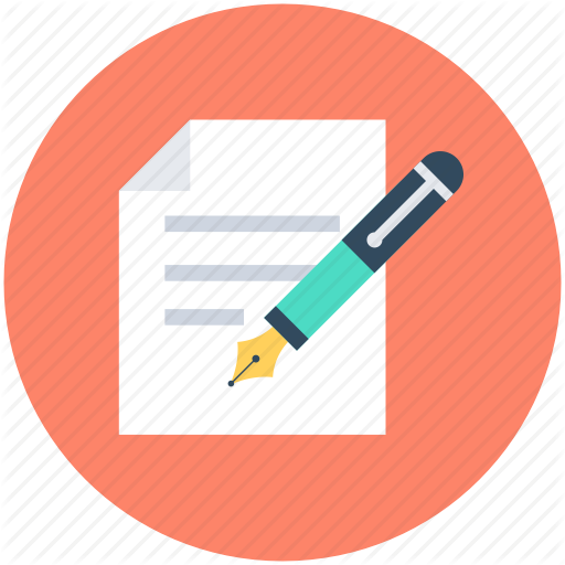 Editor, Pen, Script Writing, Writing, Writing Article Icon