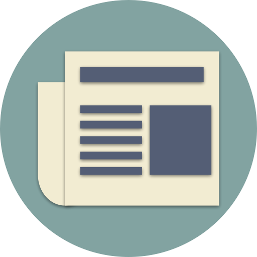 Media, Paper, News, Newspaper, Files, Magazine, Article Icon